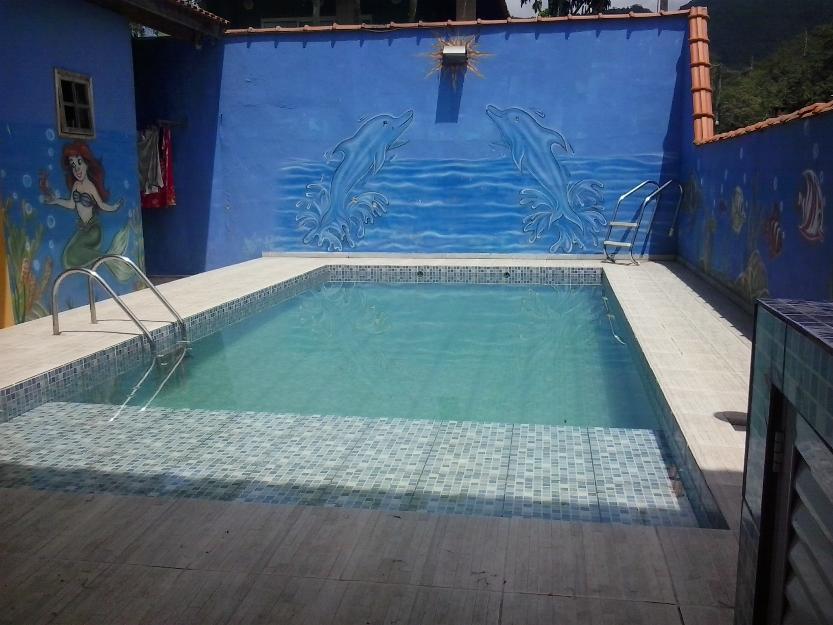 Casa Temporada c/ Piscina - Praia Maranduba - Prox Cachoeiras - Até 15 pessoas