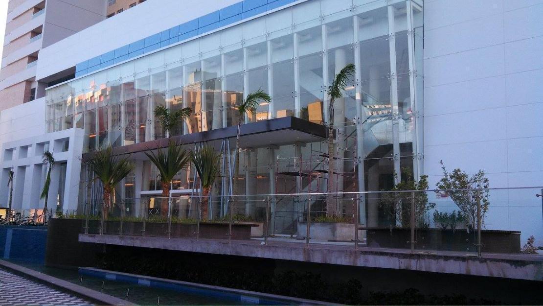 Loja The Blue Officemal de 55m com pé direito duplo com locação por 30 meses
