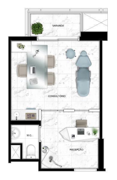 Oportunidade -salas de 25 a 362 mt. o melhor projeto vila carrão. coletanea office square.