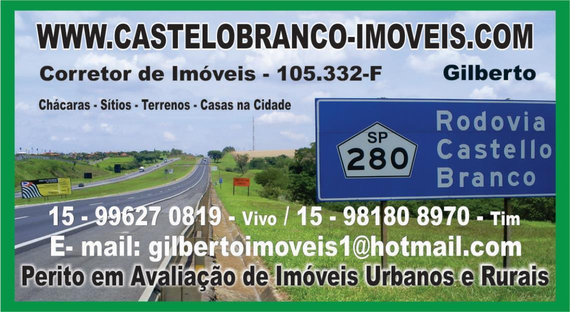 Imóveis há 150 km de SP. // Rodovia Castelo Branco // Veja e Confira.