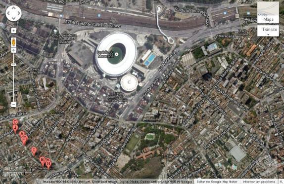 Quarto Prox. ao Maracanã para Copa