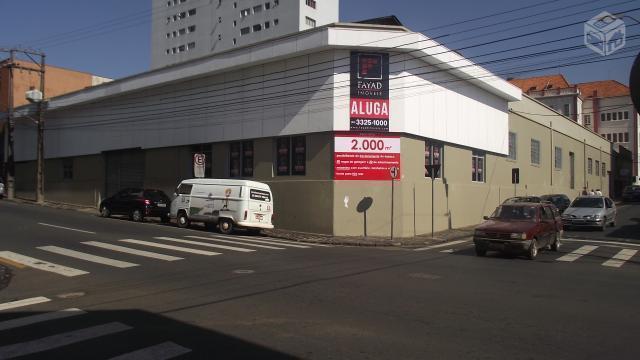 Barracão Centro - 2000 m² - Próx. Regente Feijó