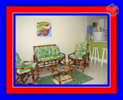 Frente praia Rasa, temporada casa 3 qts 1 suite