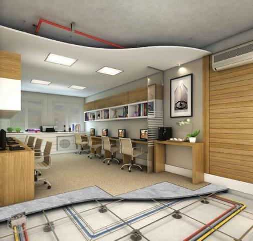 Lançamento de salas comerciais na Barra