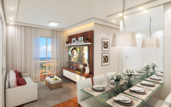 Apartamento em Osasco na planta 2 e 3 dormitórios