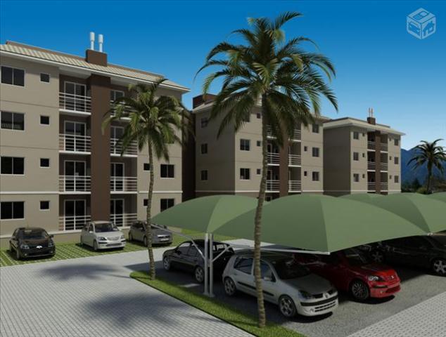 Apartamento com garagem piscina e salão de festas