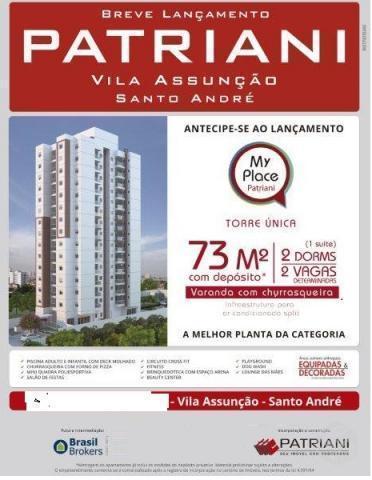 Lançamento de Apartamento na Planta Santo André