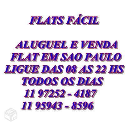 Locação flat prox a av paulista 1 2 3 Dorm
