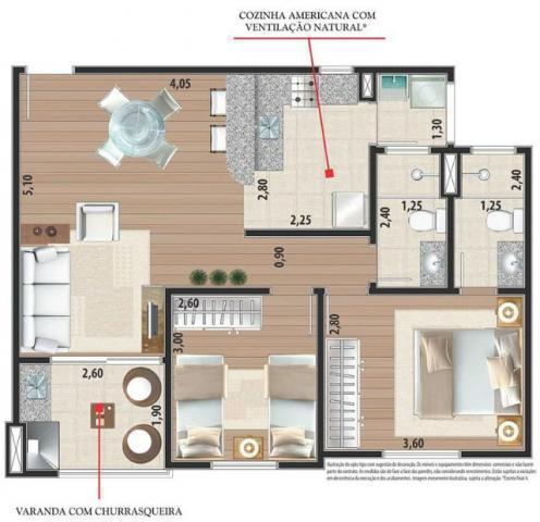 Apartamento Em fase de contrução - sucesso de vendas 2 quartos