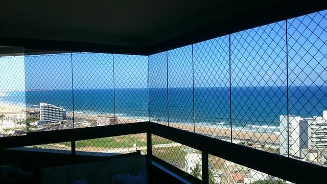 Vista maravilhosa, ventilado, nascente e vista mar
