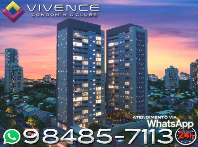 Lançamento Imóvel na planta Vivence , 02 e 03 dormitórios com suíte + terraço grill