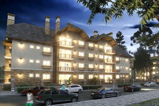 Apartamento em  - Residencial Casa de Pedra - 117,79m²