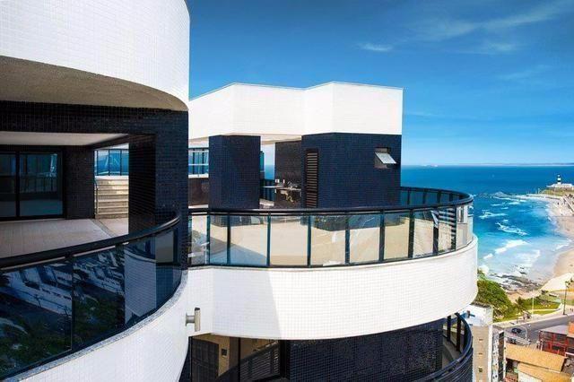 Mansão orizon,apartamento alto padrão em ondina,4 suites com 330 m2 e cobertura com 660 m2