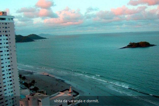 Apartamento para 7 pessoas com vista para o mar
