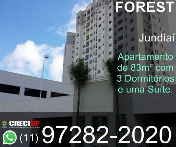 Apartamento com 3 Dormitórios 1 Suíte no Forest Hills ao Lado do Carrefour