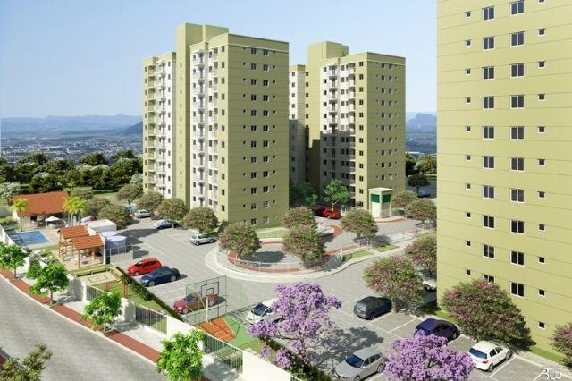 2 Quartos, 50m², 1 Vaga, Elevador - Laranjeiras - AP0463