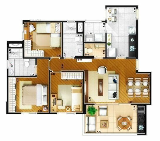 Apartamentos 3dorms -  ViLa Augusta