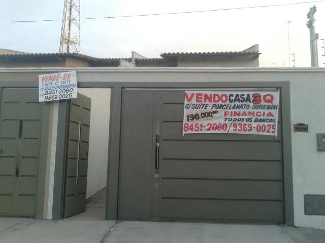 Casa 3 Quartos c/1 Jardim Clarissa Financia qual Banco pega Carro