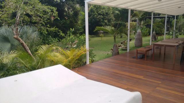 Locação - Mansão - Vargem Grande - Condomínio - 5 suítes - mobiliada - piscina