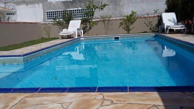 Casa de praia com piscina particular - fica mobiliada