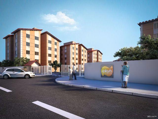 Apartamento em Campo Grande Splash 2Qts – Lazer completo
