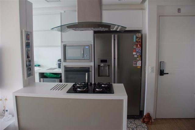 Apartamento próx Santo Amaro 2 quartos moderno cond. Novamérica vista nações unidas