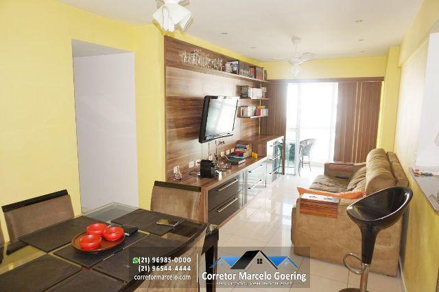 Condomínio Verano, Rio2, Apartamento Mobiliado, Aceita Depósito Caução, Andar médio, 74m2