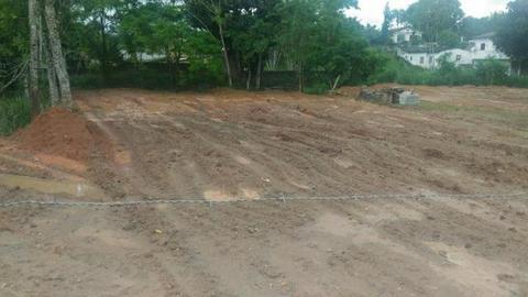 Terreno em pedro de toledo pronto pra construir