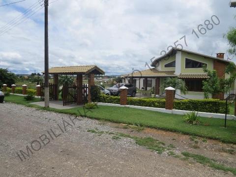 REF 1352 Casa campo 900 m², piscina alvenaria 9 x 4,5, bela casa, Imobiliária Paletó