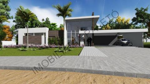 REF 1366 Grande oportunidade, casa em construção 379 m², terreno 900 m², ImobiliáriaPaletó
