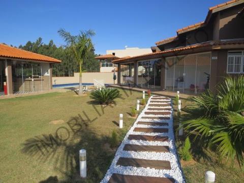 REF 1385 Casa condomínio fechado, bela piscina, salão festa, Imobiliária Paletó