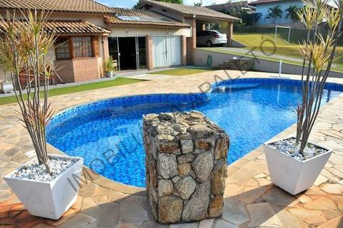REF 239 Chácara 1840 m² em condomínio fechado, linda vista, piscina, Imobiliária Paletó