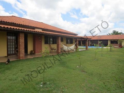 REF 370 Chácara 1000 m², piscina, toda mobiliada, maravilhosa casa, Imobiliária Paletó