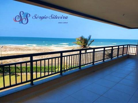 Varandão Vista mar Mandara Lanai Porto das Dunas Apartamento com 3 quartos lazer completo!